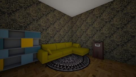 Indian Living - Living room  - by theIrishdog
