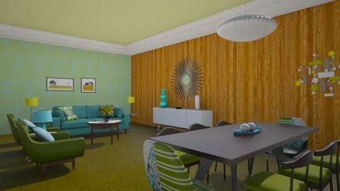 retro dream - Retro - Living room  - by mywishlr