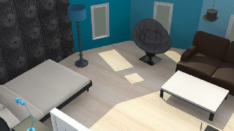 retro szoba 2 - Retro - Bedroom  - by agicacica