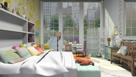 Richmond Bedroom - Eclectic - by BerBer
