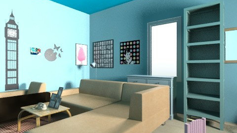 Pastel Colours - Vintage - Living room  - by 123detroit