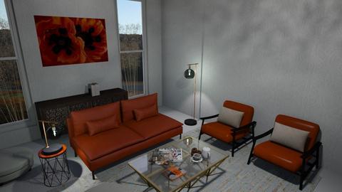 Georgia OKeeffe inspired - Eclectic - Living room - by Daria Marienko