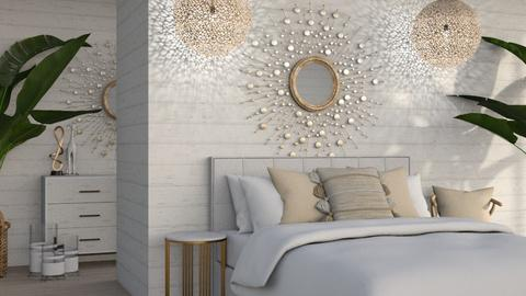 Wooden Cladding - Bedroom  - by KittyT6