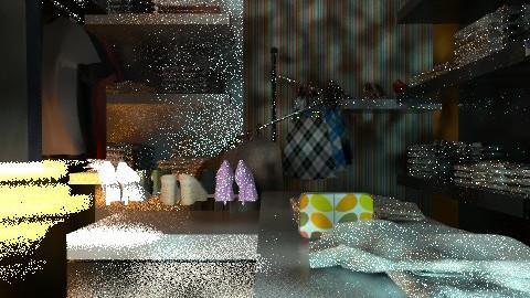bedroom - Glamour - Bedroom  - by orquidea