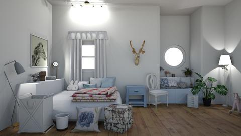 For KittyT6 - Modern - Bedroom  - by matildabeast