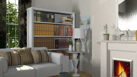Country Lounge 2 - Country - Living room  - by yasemin04
