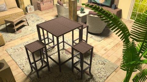 wild world - Rustic - Living room  - by deleted_1550519236_sorroweenah