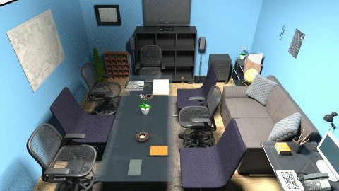 Design Kantor FI - Minimal - Office  - by anggara_wirawan