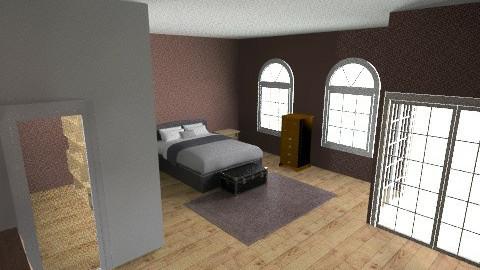 Master Suite basement pub - Rustic - Bathroom  - by winesnob11