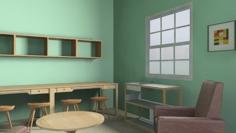 Family Room3 - Rustic - Office  - by crawdad77
