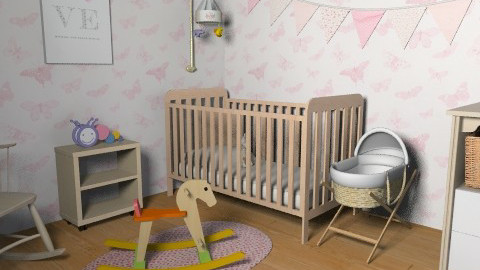 Girly Nurseryyy. - Classic - Kids room  - by jadebeal