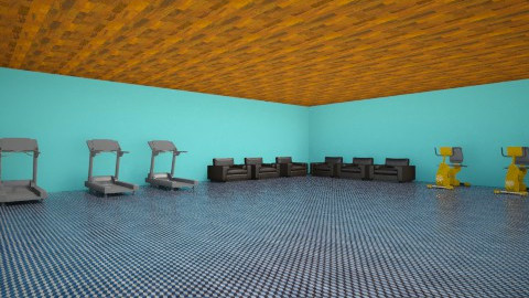 my dream gym room - Minimal - Office  - by benike0605