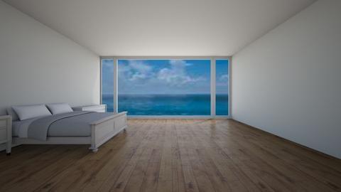 Ocean View Bedroom - by imatacocat