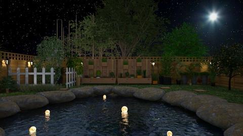 night garden - Garden  - by Malshi
