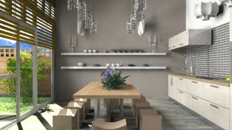 baroque - Eclectic - Kitchen - by calu13
