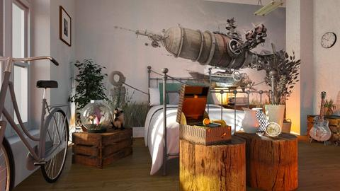Night_Fly - Bedroom  - by ZuzanaDesign