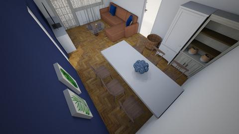 Salon1 - Living room  - by madlen01