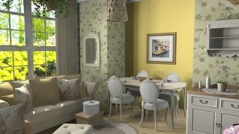 sala/cucina - Classic - Living room - by RobertaS
