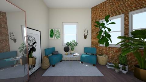 greenery - Minimal - Living room  - by Samantha Ruoff