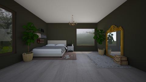cozy plant room - Bedroom  - by pineapplesiesie