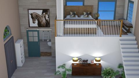 Contest 1 my mix - Rustic - Bedroom  - by MillieBB_fan