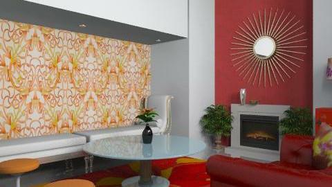 Elegance - Glamour - Living room  - by carolinafer