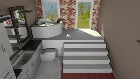Downstairs Bathroom - Country - Bathroom  - by Zoee
