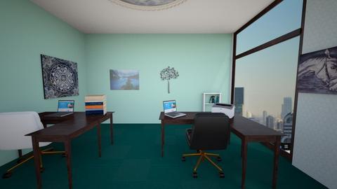 minty fresh office - Office  - by Sierran