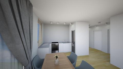 Kuchnia 5b - Living room - by KatarzynaLaszczyk