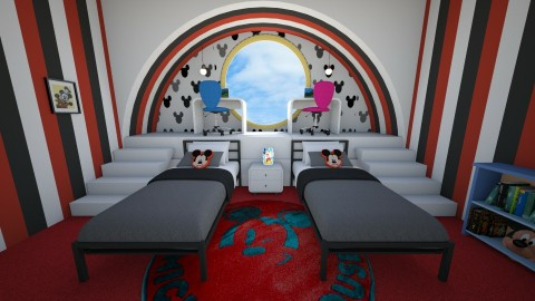 Mickey bedroom - Modern - Kids room  - by deleted_1514005826_nan92