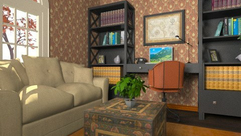 Study - Eclectic - Office  - by Theadora