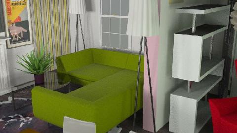Retro Chique - Retro - Living room  - by Frankiekex
