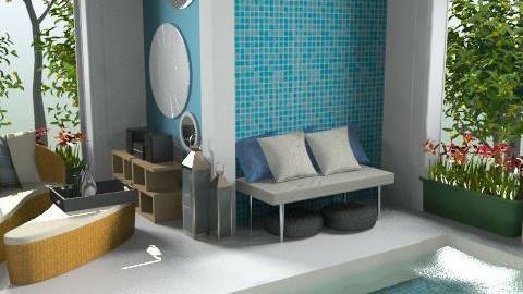 cool pool - Modern - by dominicjames