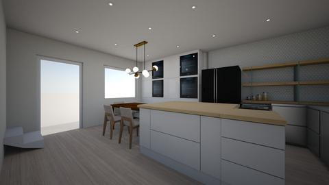 Open Kitchen 1 - Kitchen - by brennana9