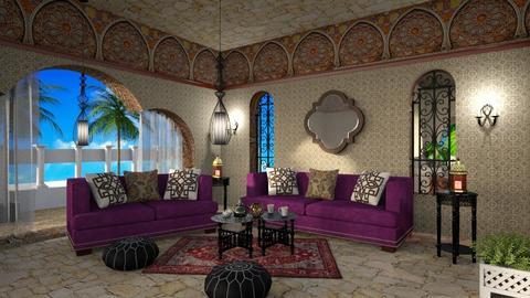 Moroccan parlor - by ZsuzsannaCs