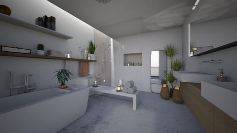 natural bathroom - Modern - Bathroom  - by StienAerts