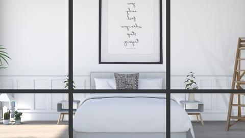 white interior - Bedroom  - by madaline