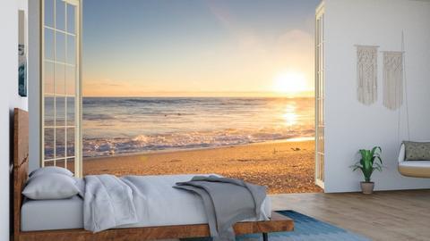 Beach Bedroom - Bedroom  - by LilLil
