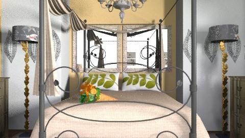 Leaf - Vintage - Bedroom  - by decorj
