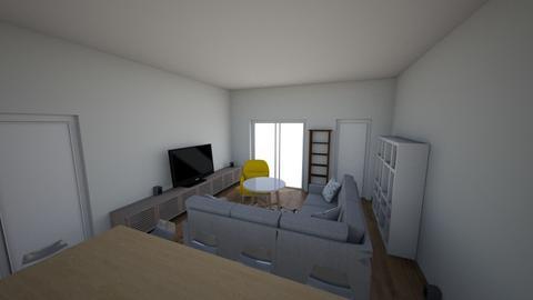 MU58_balcony_projector - Living room  - by azreon