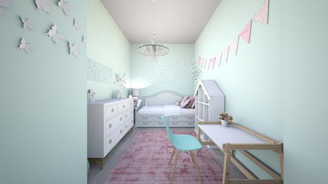 cozygirlsroomremix - Modern - Bedroom - by tahliawaters