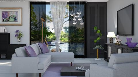 M_ Elton - Living room - by milyca8