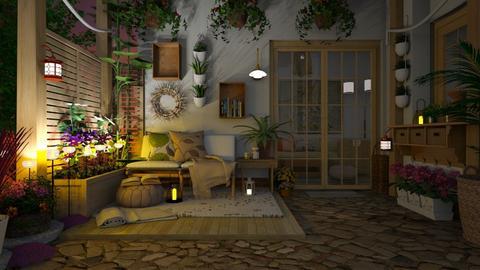 small living patio - by Tatjana113