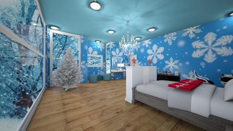 Winter Bedroom - Bedroom - by Chickie4012