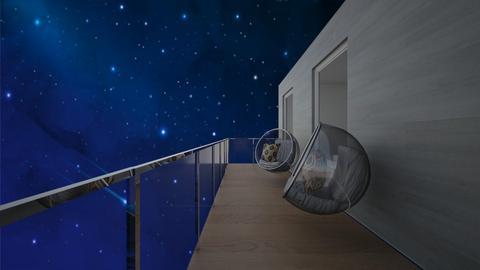 star gazing balcony - by madaline