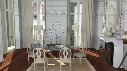 classic  - Dining room - by alepa