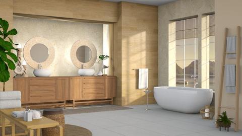 Beside The Seaside - Bathroom  - by dominicjames