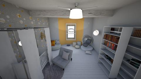 White Night - Kids room  - by GeorgiaElle