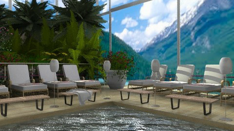 Indoor Pool - Modern - by Your well wisher