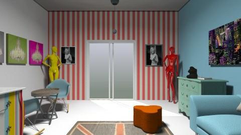 living room COLORs - Retro - Living room  - by rockytalita